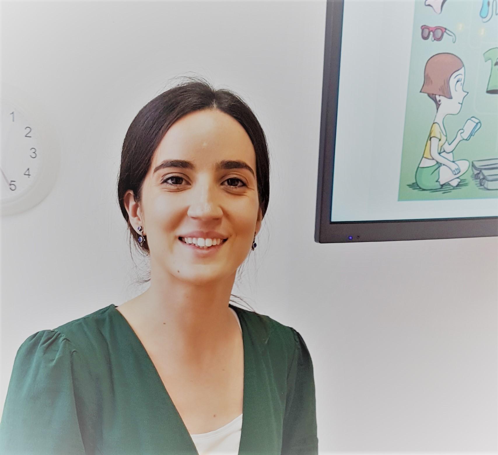 Spanish teacher Beatriz