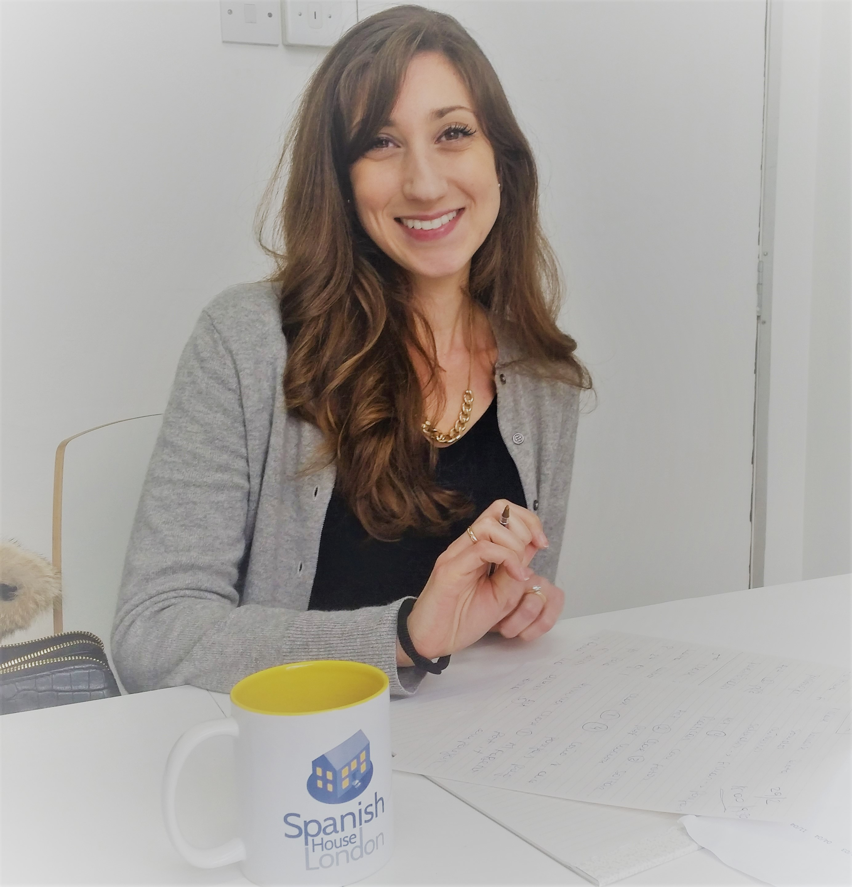 Spanish teacher Victoria
