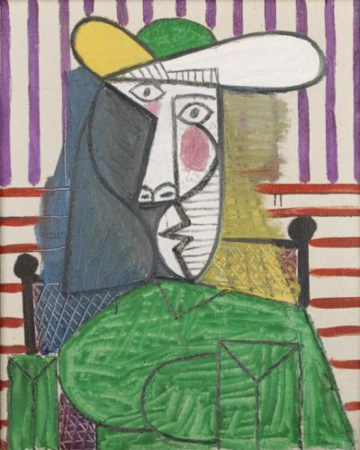 Picasso Painting at Tate Modern